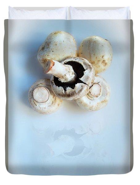 Marvellous Mushrooms Duvet Cover