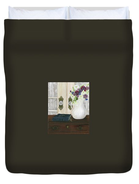 Marvelous Grace Duvet Cover