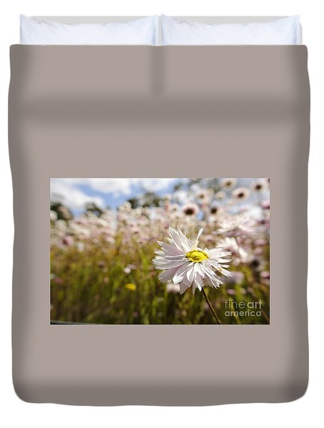 Marvelous Imperfection Duvet Cover by Oscar Moreno