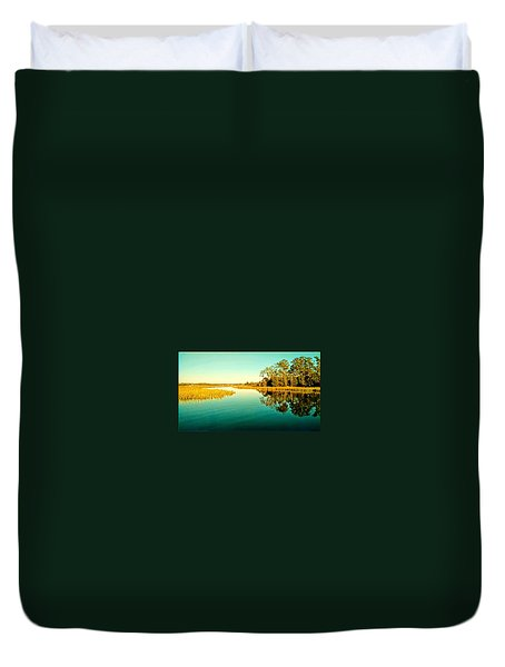 Marvelous Marsh Duvet Cover