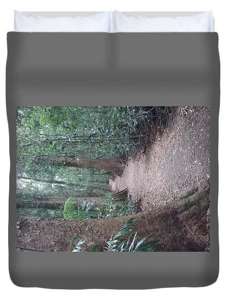 Mary Cairncross Rainforest  Duvet Cover
