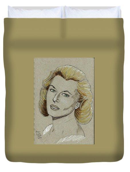 Mary Costa Duvet Cover