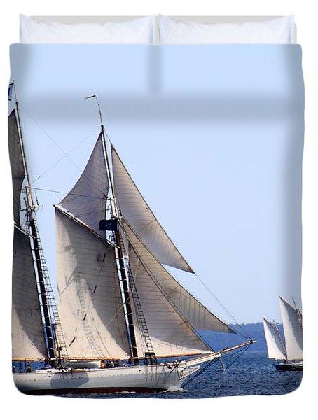 Mary Day Duvet Cover
