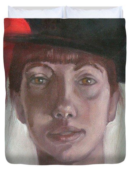 Mary Virginia Duvet Cover