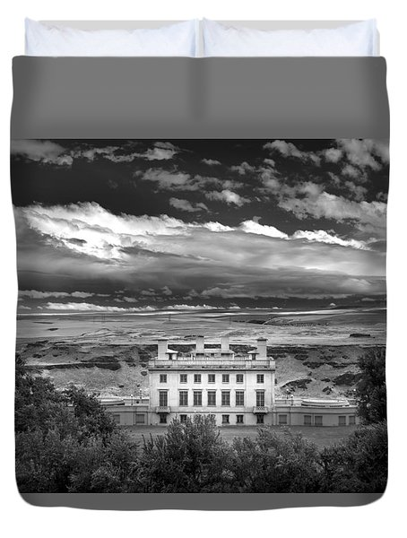 Maryhill In Monochrome Duvet Cover