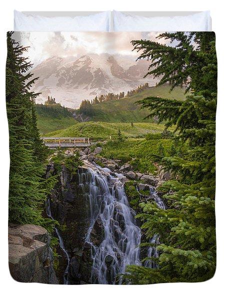 Myrtle Falls Duvet Cover