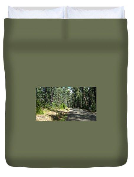 Marysville Trees Duvet Cover
