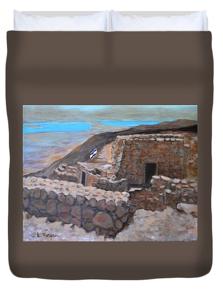 Masada Duvet Cover