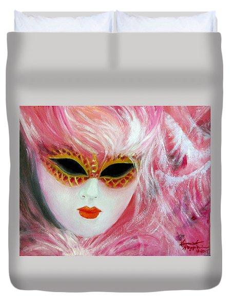 Maschera Duvet Cover