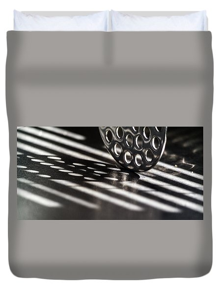 Masher Shadows Duvet Cover