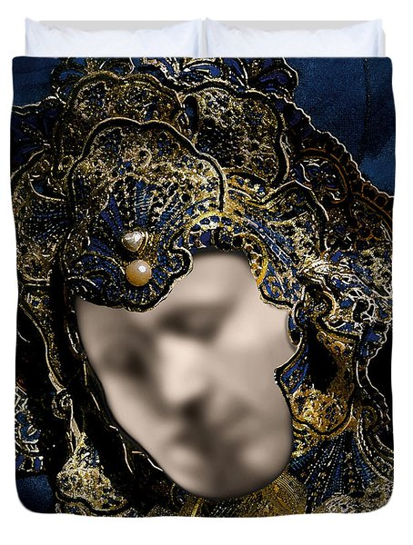 Mask Of Love Duvet Cover