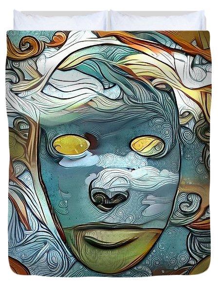 Masks Duvet Cover