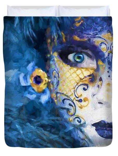 Masquerade I Duvet Cover