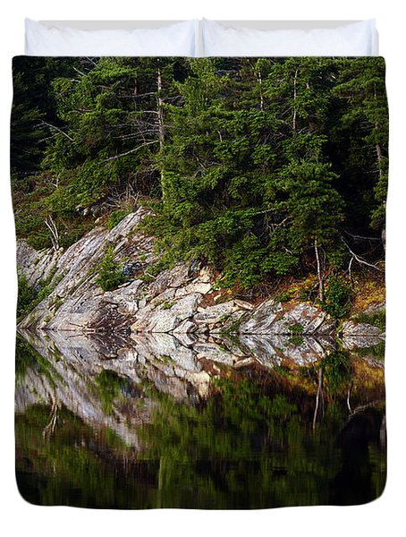 Massasauga Park Reflection Duvet Cover