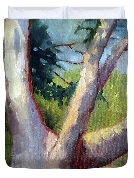 Massive Summer Oak Duvet Cover