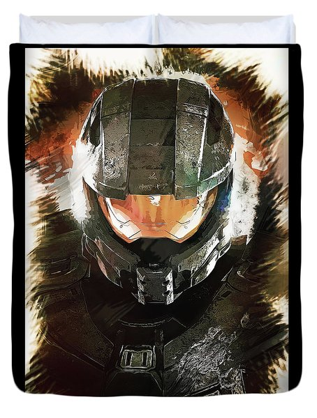 Master Chief Duvet Cover