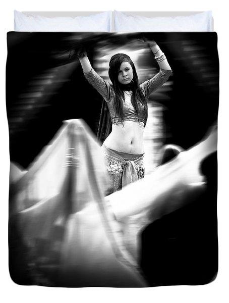 Mata Hari Duvet Cover by Bob Orsillo