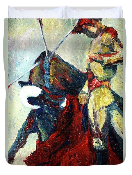 Matador Duvet Cover