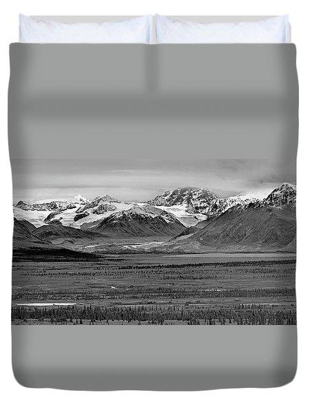 Matanuska-sustina Pano Duvet Cover
