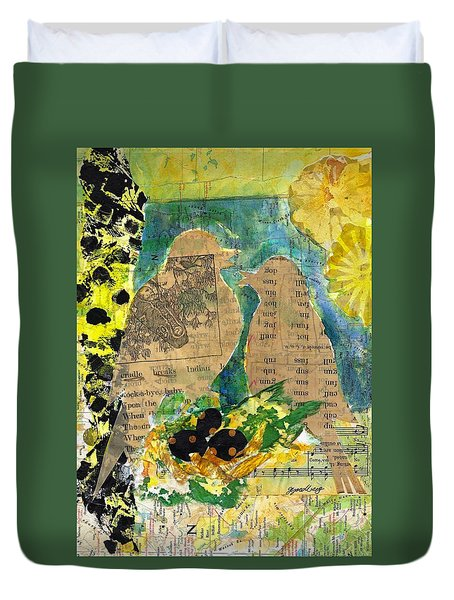 Mater And Pater Duvet Cover