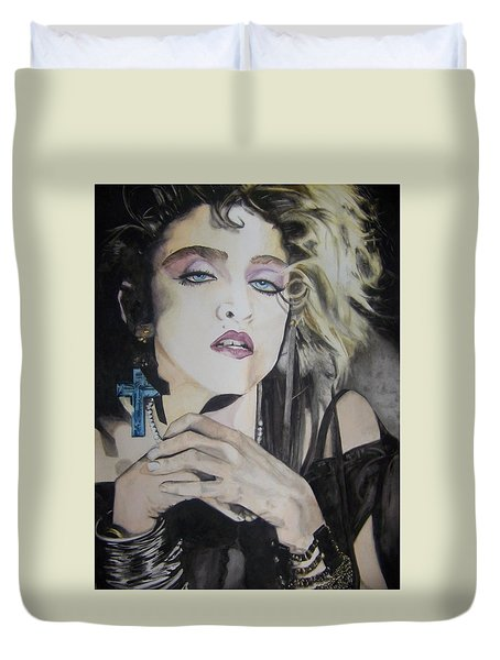Material Girl Duvet Cover
