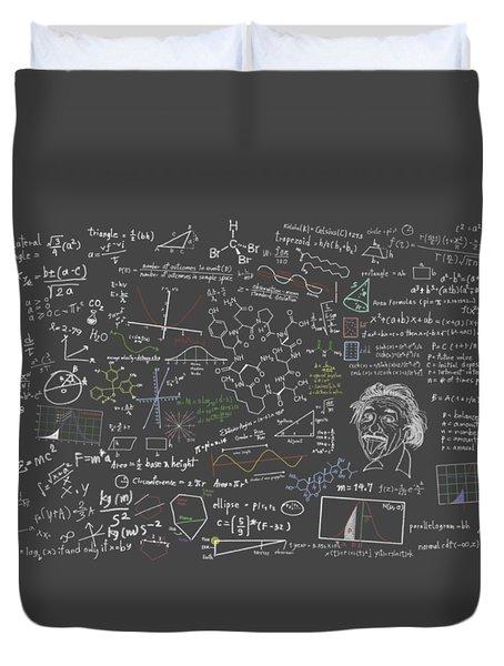 Maths Formula Duvet Cover