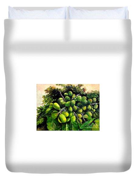Matoa Fruit Duvet Cover