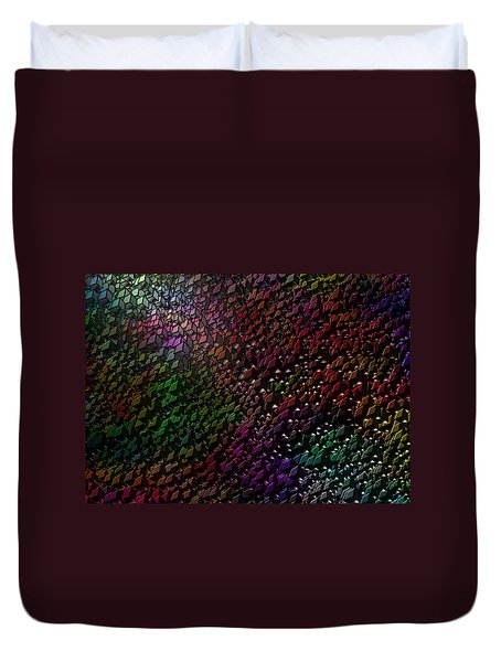 Matrizzavano Duvet Cover by Jeff Iverson