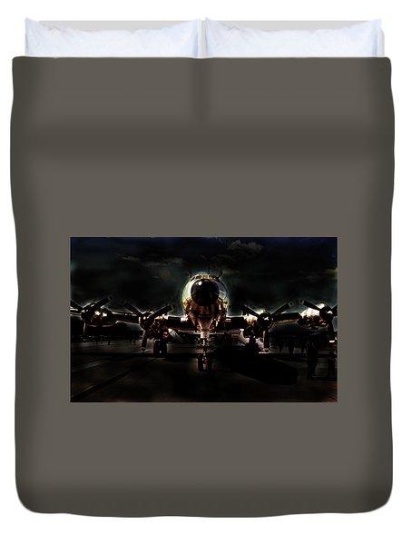 Duvet Cover featuring the photograph Mats Constellation by John Schneider