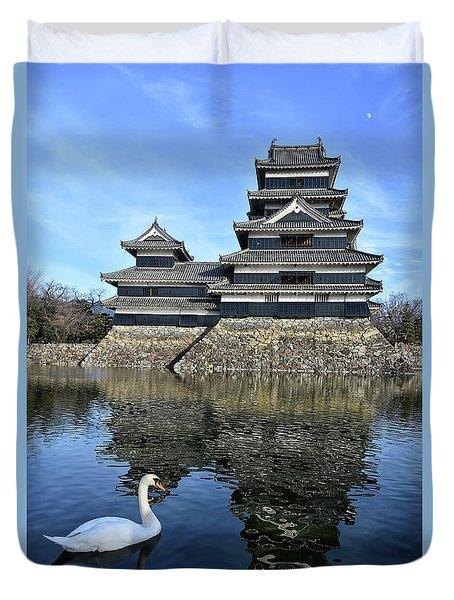 Matsumoto Swan Duvet Cover
