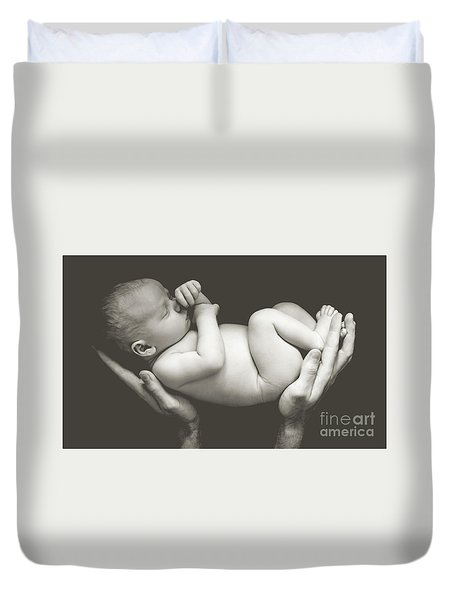 Matte Baby Art Duvet Cover