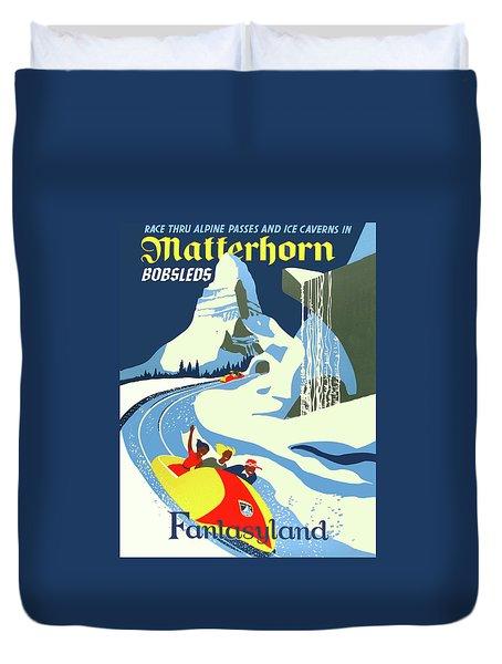 Matterhorn Bob Race Duvet Cover