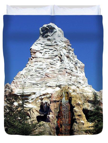Matterhorn Disneyland Duvet Cover