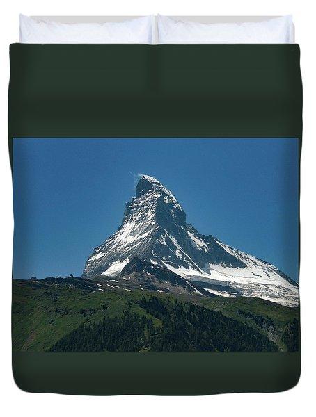 Matterhorn, Switzerland Duvet Cover