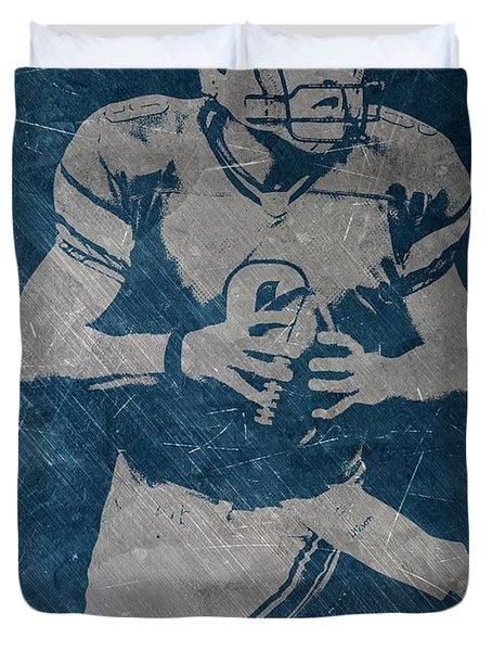 Matthew Stafford Detroit Lions Duvet Cover
