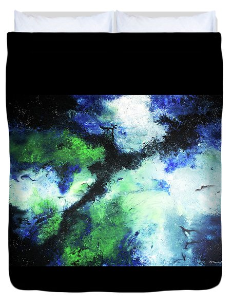 Matthew's Odyssey Duvet Cover