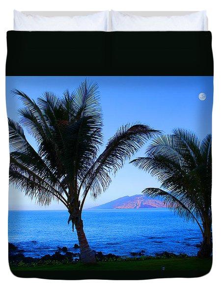 Maui Coastline Duvet Cover by Michael Rucker