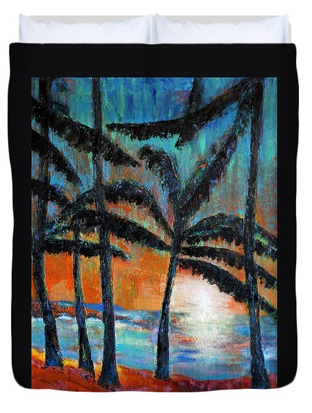 Maui Dreams Duvet Cover