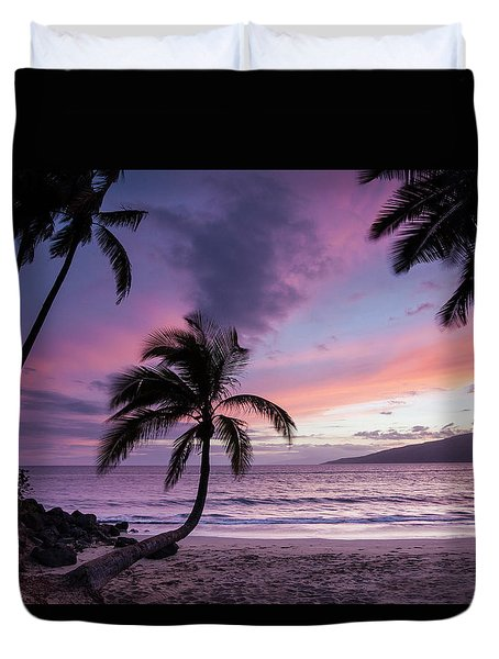 Maui Moments Duvet Cover