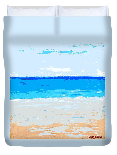 Maui No Ka Oi Duvet Cover by Fred Wilson