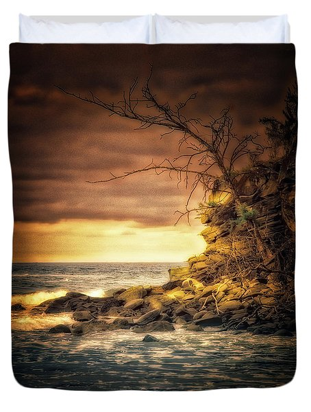 Maui Ocean Point Duvet Cover
