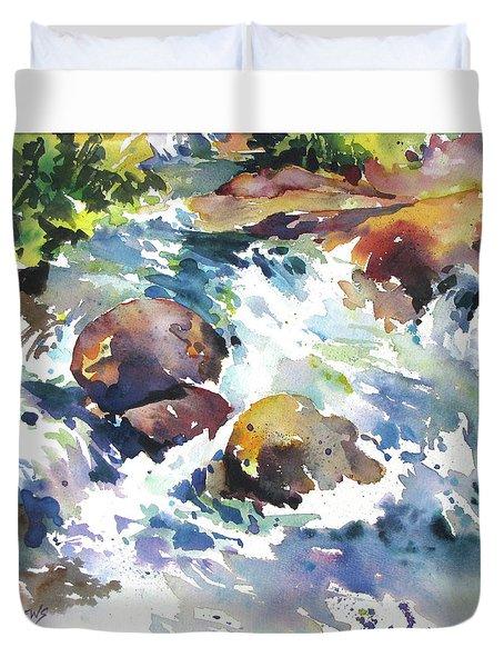Maui Rapids Duvet Cover