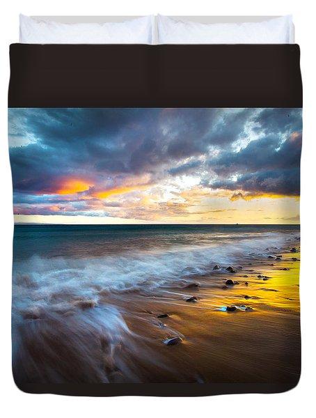 Maui Shores Duvet Cover