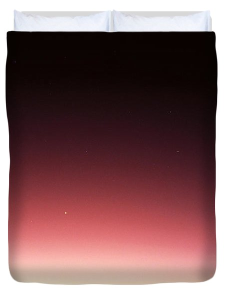 Mauna Kea, Summit Duvet Cover by Mary Van de Ven - Printscapes