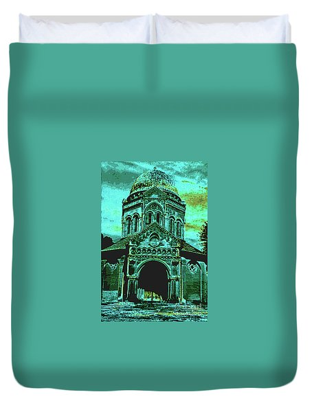 Mausoleum Duvet Cover