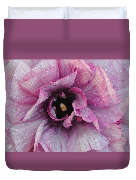 Mauve Beauty Duvet Cover by Tamara Bettencourt