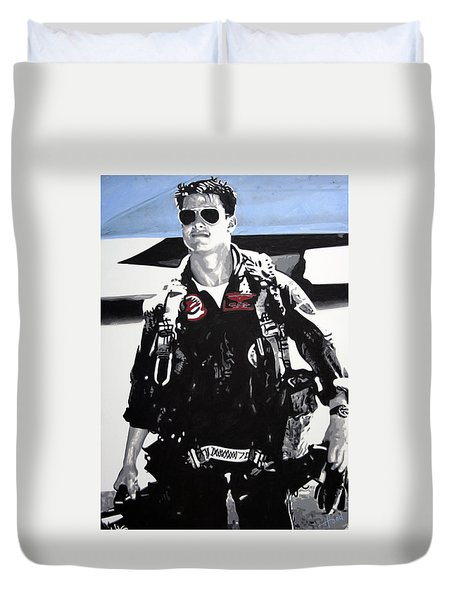 Maverick Duvet Cover