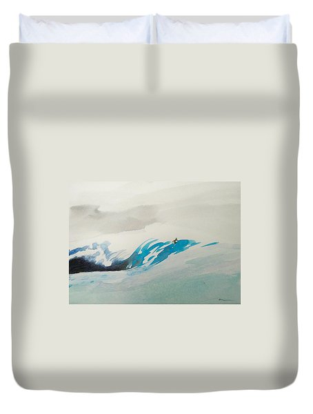 Mavericks Duvet Cover by Ed Heaton