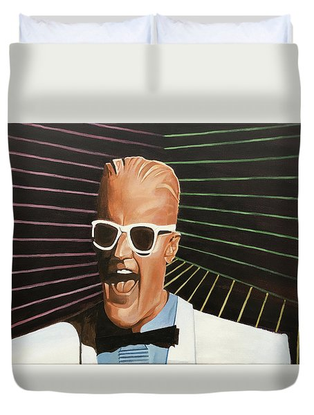 Max Headroom Duvet Cover