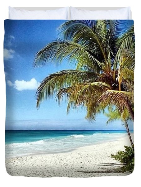 Maxwell Beach Barbados Duvet Cover